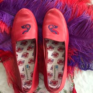 Red Hat Grasshopper by Keds Red/Purple Shoes